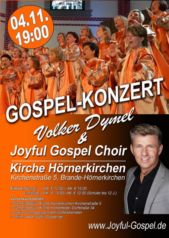 Gospelkonzert am 4.11.2017