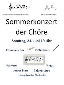 Sommermusik der Chöre @ Kirche zu Hörnerkirchen | Brande-Hörnerkirchen | Schleswig-Holstein | Deutschland