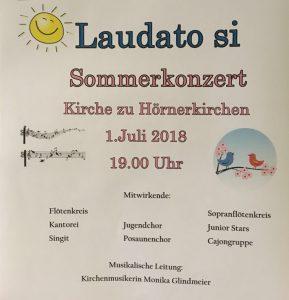 Laudatio Si! Sommerkonzert @ Kirche zu Hörnerkirchen | Brande-Hörnerkirchen | Schleswig-Holstein | Deutschland