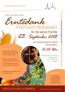 Erntedankfest Hof Ahsbahs @ Hof Ahsbahs | Bokel | Schleswig-Holstein | Deutschland