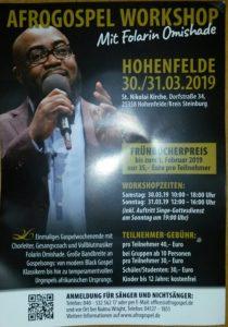 Abendgottesdienst mit Gospel-Chor @ St. Nikolai Kirche Hohenfelde