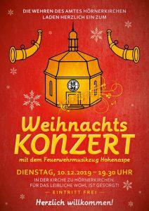 Weihnachtskonzert der Feuerwehren @ Kirche zu Hörnerkirchen   Brande-Hörnerkirchen   Schleswig-Holstein   Deutschland