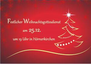 Festlicher Gottesdienst @ Kirche zu Hörnerkirchen