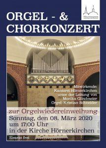 Festliches Orgelkonzert zur Wiedereinweihung der Orgel @ Kirche zu Hörnerkirchen