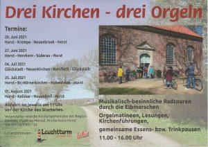 Orgelradtour Horst-Höki-Hohenfelde-Horst @ St. Jürgen
