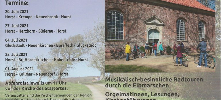 Orgelradtouren im Kirchenkreis